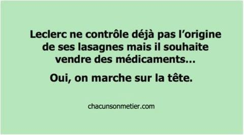 Leclerc, le neuneu aux lasagnes... (1)